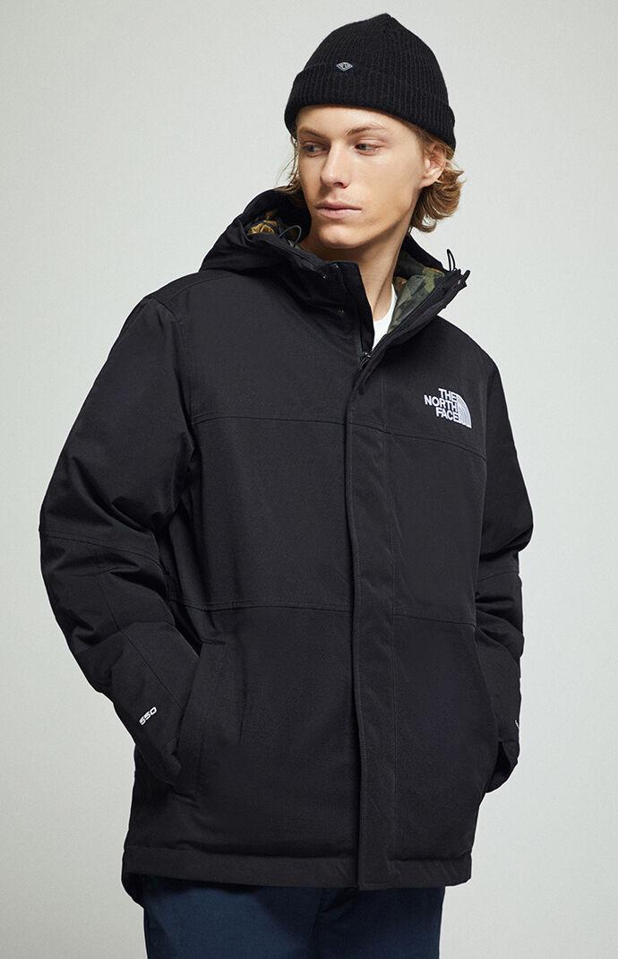 Black Balham Insulated Snow Jacket