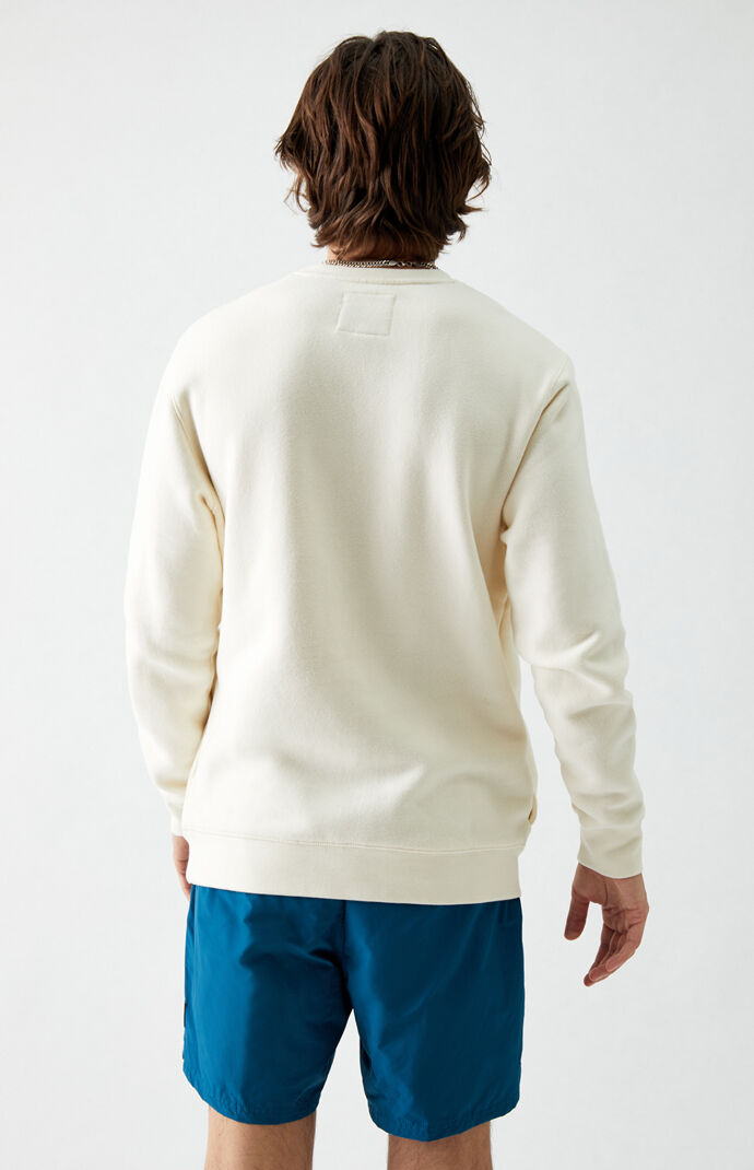 Cream ComfyCush Crew Neck Sweatshirt