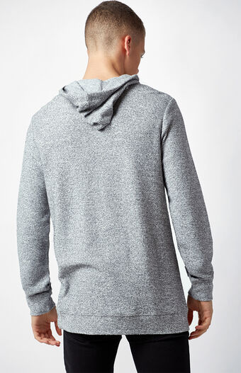 PacSun Crown Textured Lightweight Pullover Hoodie at PacSun.com
