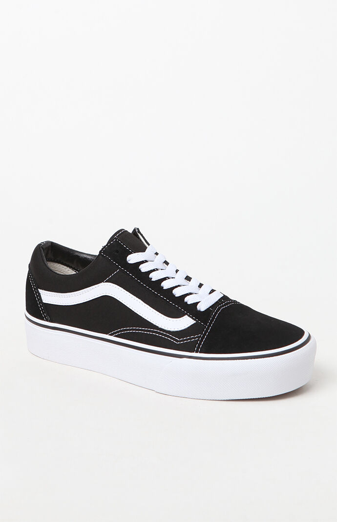 Vans Women's Old Skool Platform Sneakers at PacSun.com