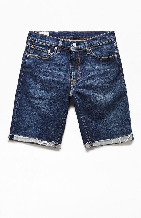 Medium Indigo 511 Cutoff Denim Shorts