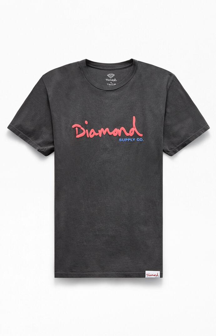 Script Overdye T-Shirt