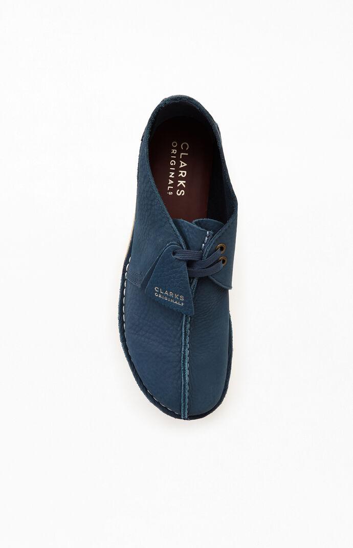 Blue Nubuck Desert Trek Shoes
