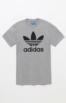 Trefoil Heather Grey T-Shirt