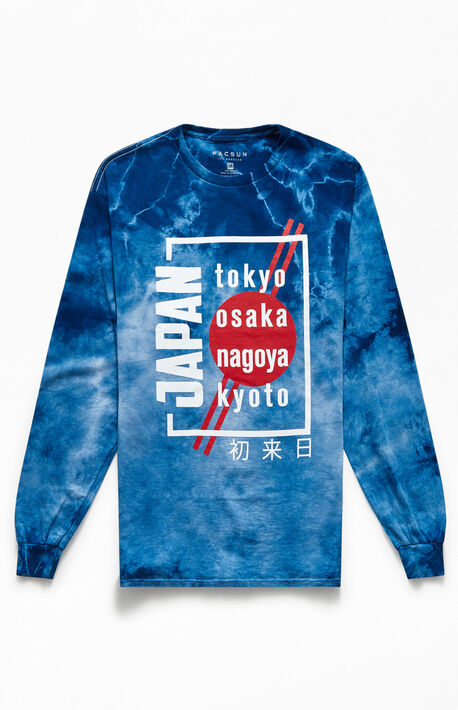 Japan Tie-Dyed Long Sleeve T-Shirt