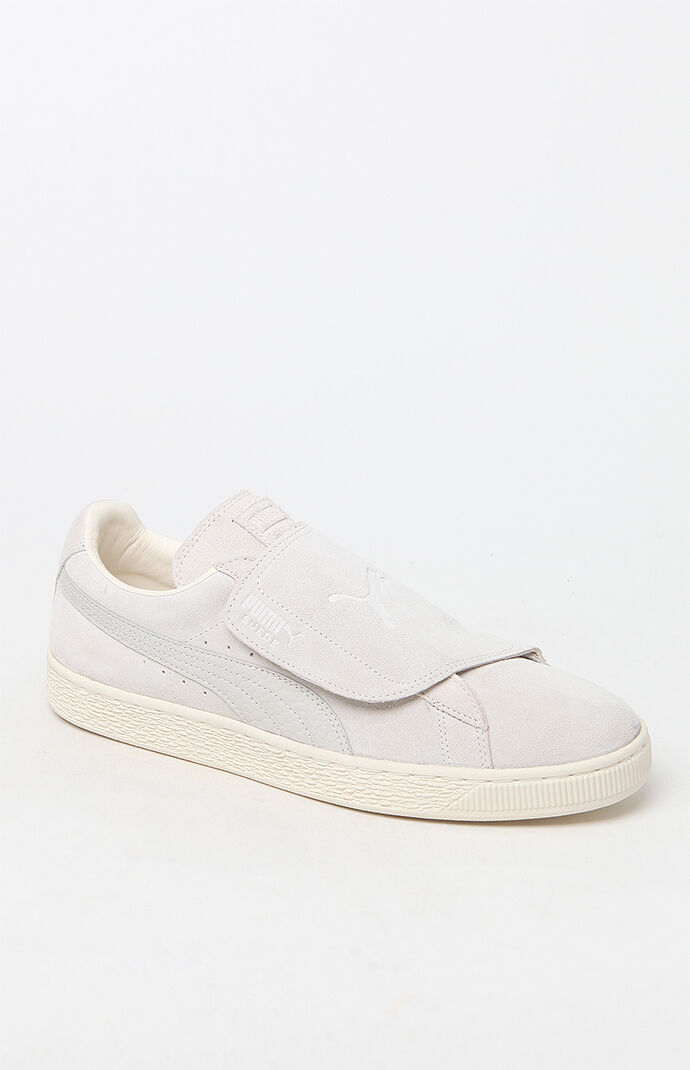 Puma Suede Wrap Colorblocked White Shoes - White/white 6509814