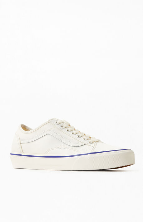 Cream Old Skool Tapered Sneakers