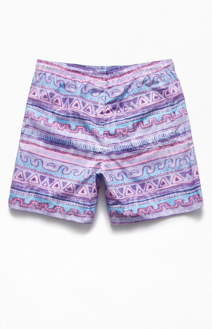 "Multi Geo 17"" Swim Trunks"