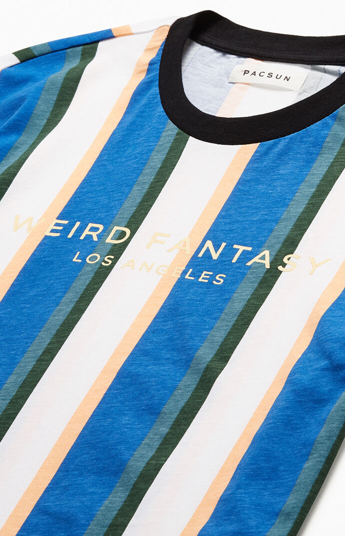 Weird Fantasy Striped T-Shirt