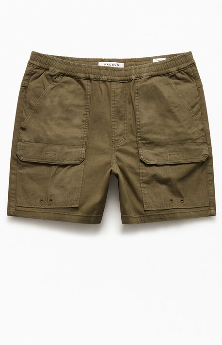 Ford Cotton Blocked Shorts