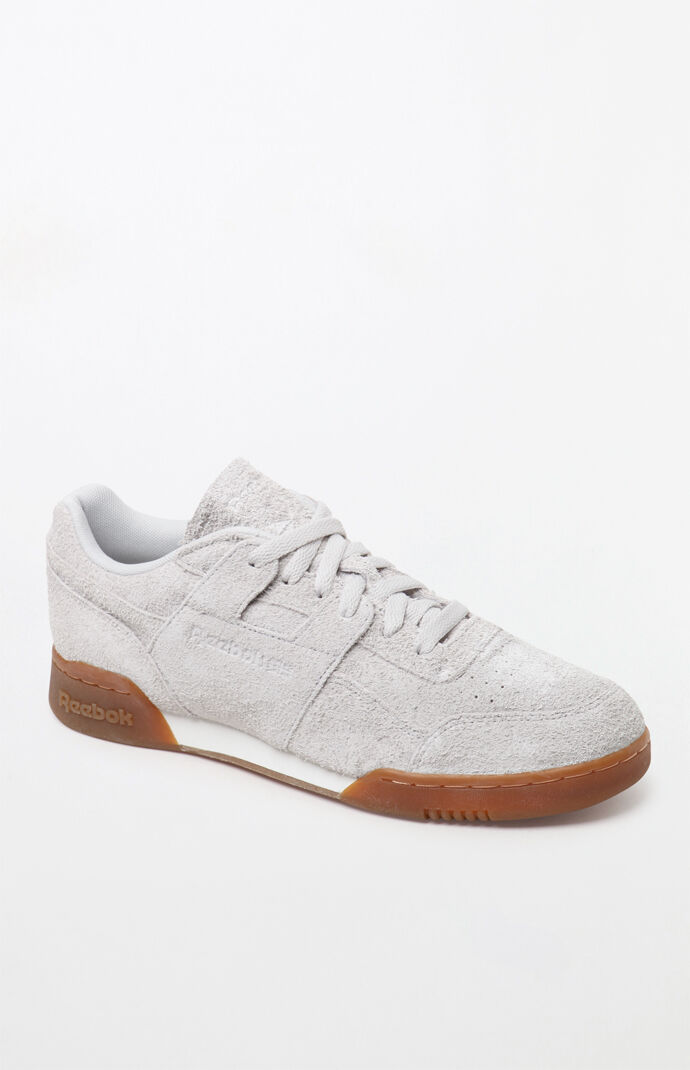 bd64956e3e4 Reebok Workout Plus MU Suede Shoes