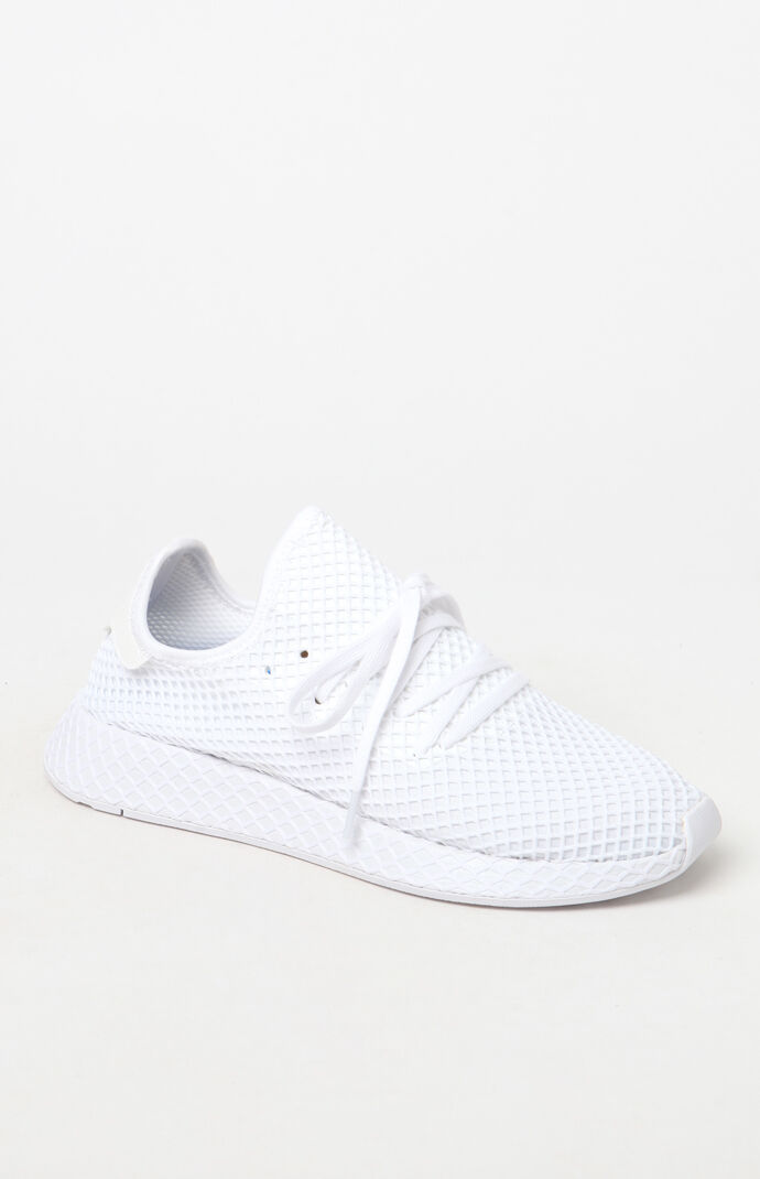 the latest 9c36a b43c3 White Deerupt Runner Shoes