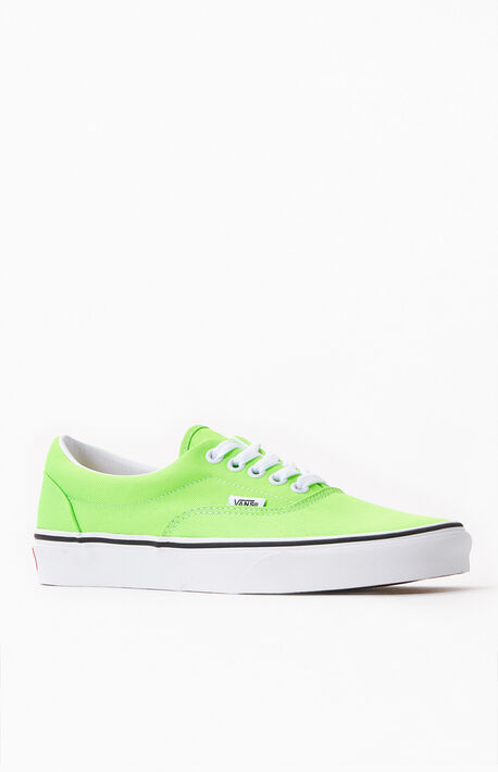 Neon Green Era Shoes