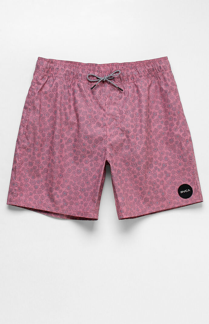 "Rvca Mens Cleta 17"" Swim Trunks - Purple 7495864"