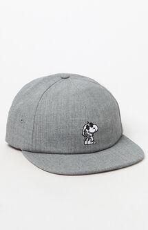 x Peanuts Snoopy Strapback Jockey Hat