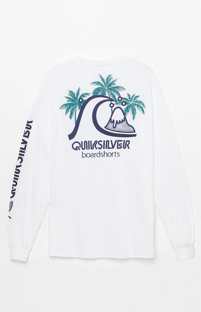 Quiksilver Tropics Long Sleeve T-Shirt - White 7449713