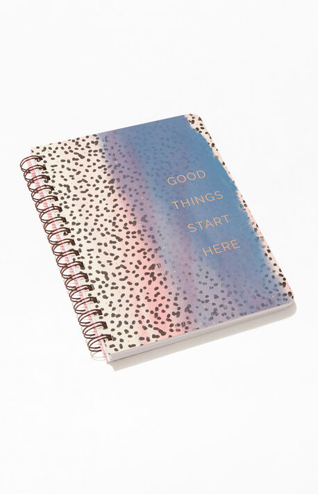 Good Things Start Here Notebook