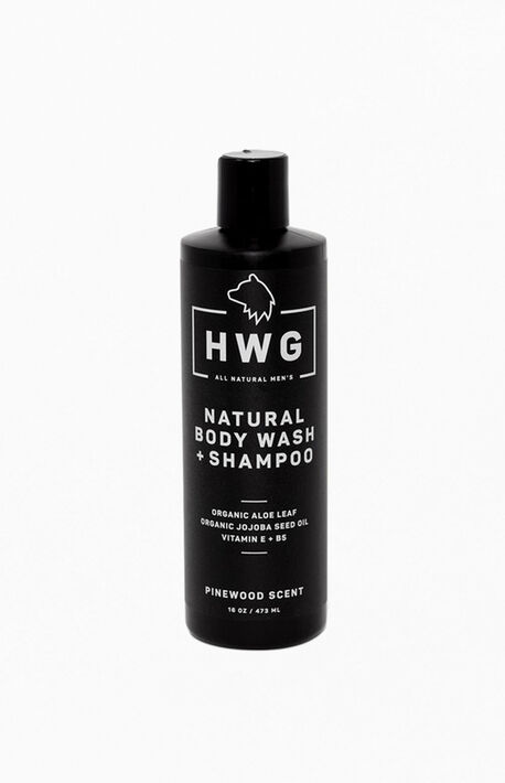 Natural Body Wash Shampoo