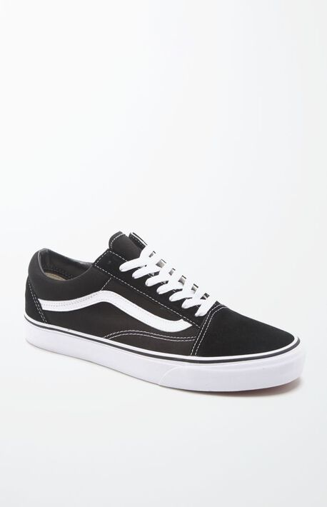 Canvas Old Skool Black  amp  White Shoes 33e9c34f3