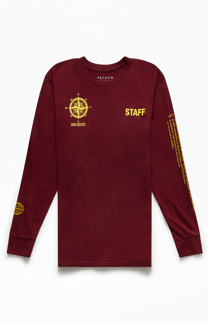 Staff Long Sleeve T-Shirt