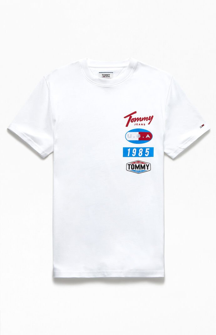 Printed Patches Logo T-Shirt