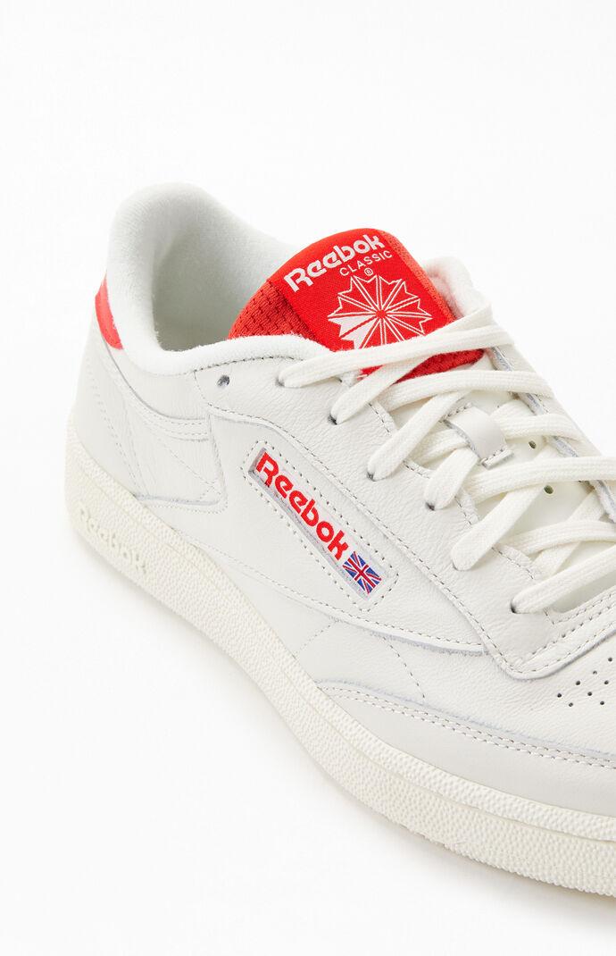 Red Club C 85 MU Flip Tongue Shoes