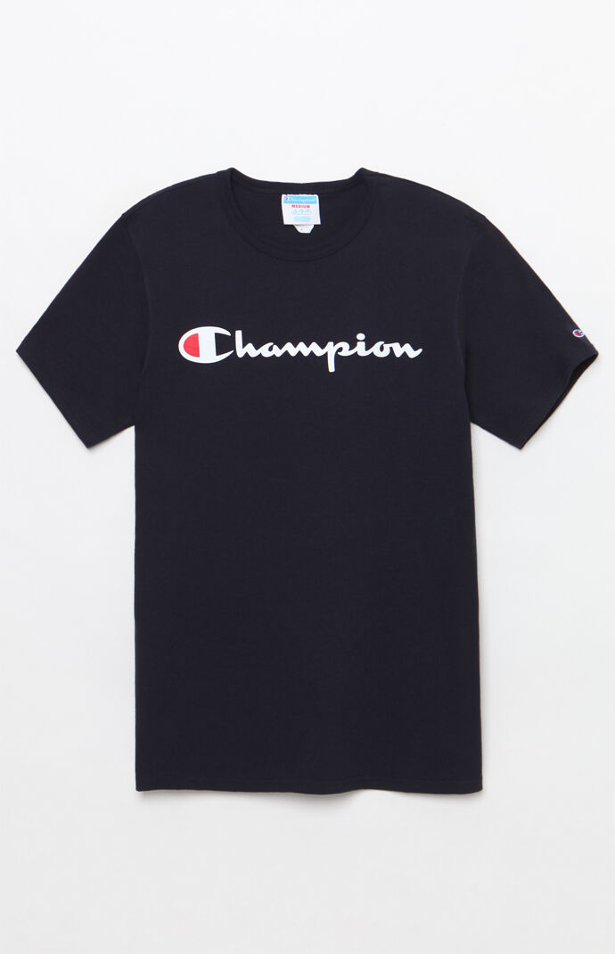 Champion Heritage T-Shirt - Navy 7551864