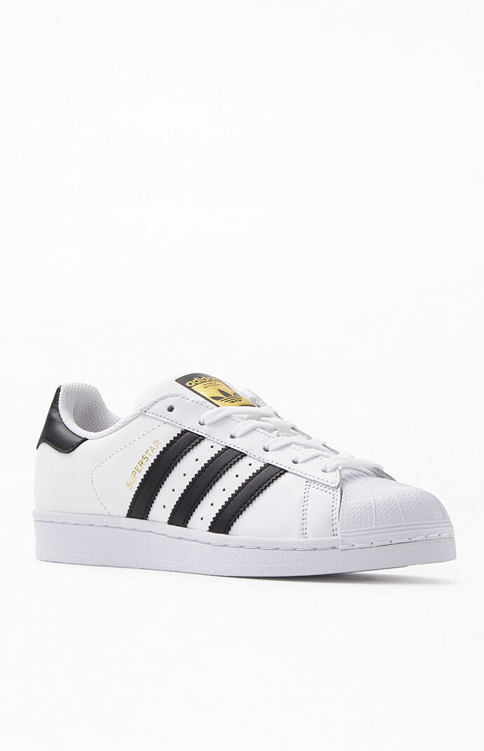 adidas Superstar Low Top Black and White from PacSun