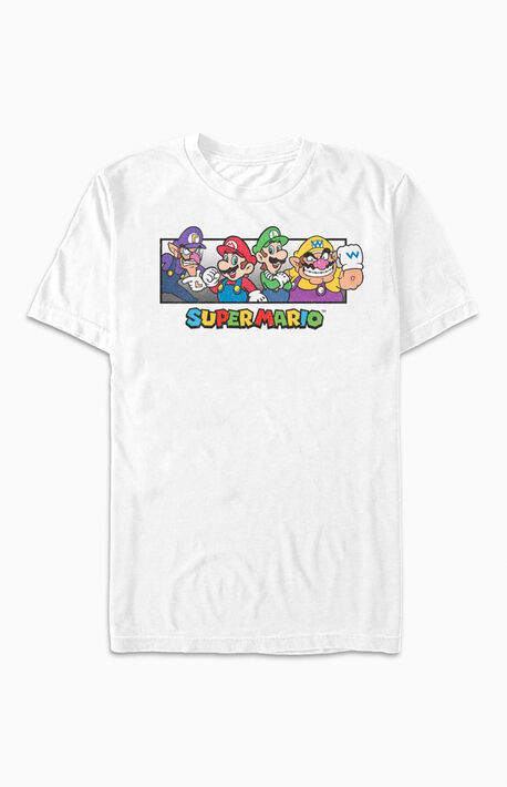 Super Mario Bros Collage T-Shirt