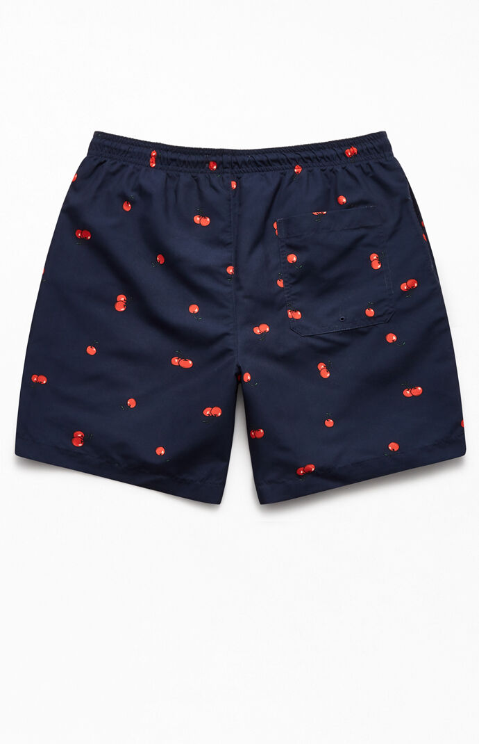 "Cherries 17"" Swim Trunks"