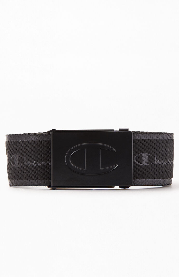 Black Advocate Web Belt