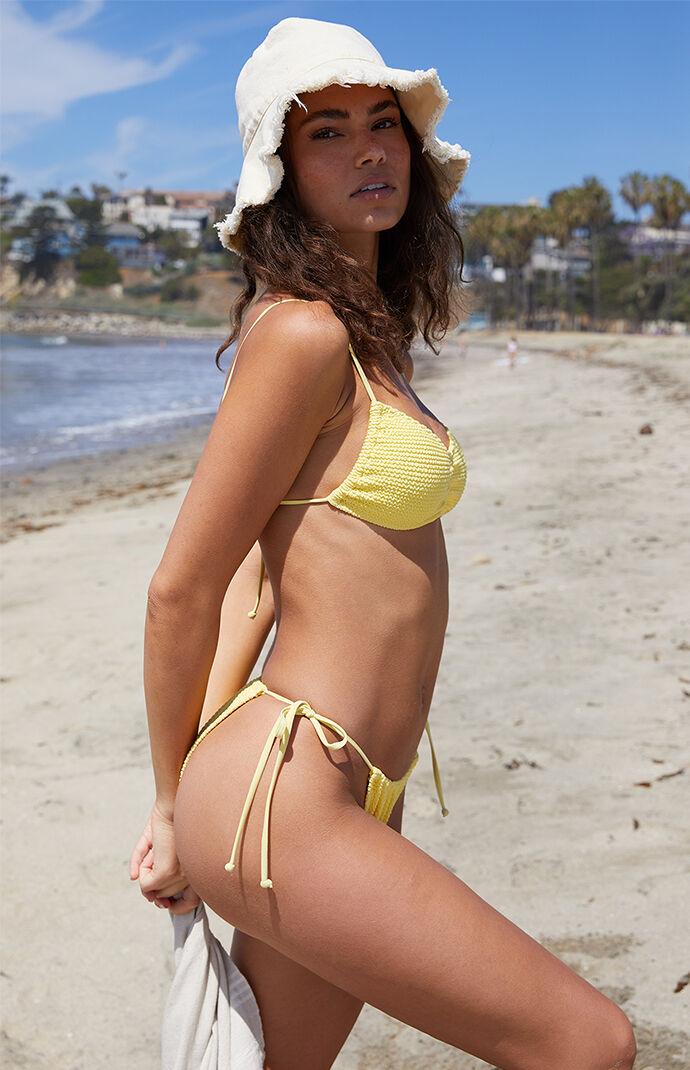 Yellow Hanna Balconette Bikini Top