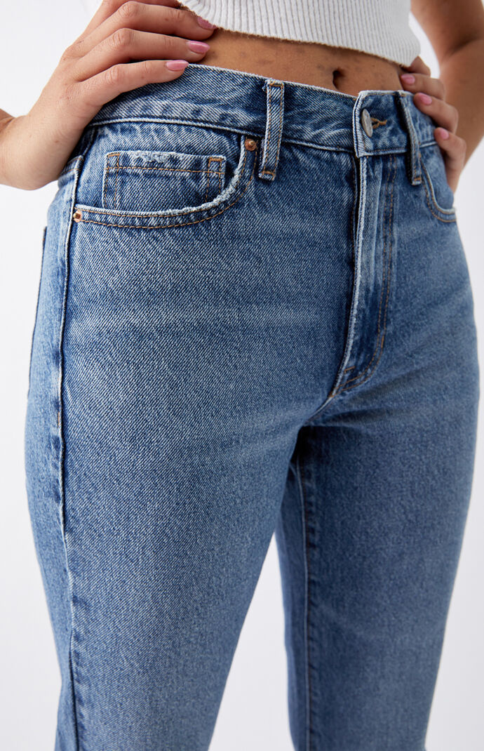 Medium Blue Vintage Boot Cut Jeans