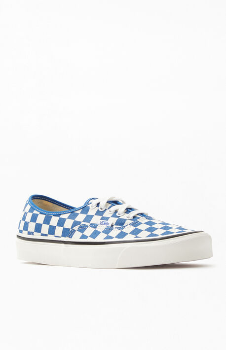 04ae48711a Blue Checker Anaheim Factory Authentic 44 DX Shoes