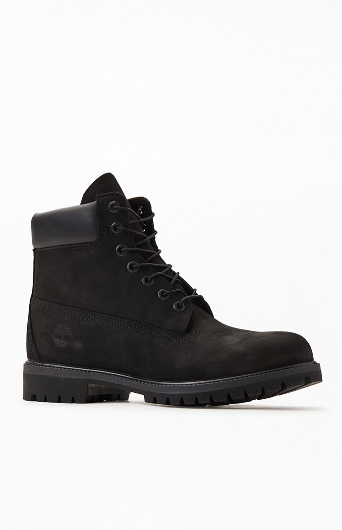 Black Premium Waterproof Leather Boots