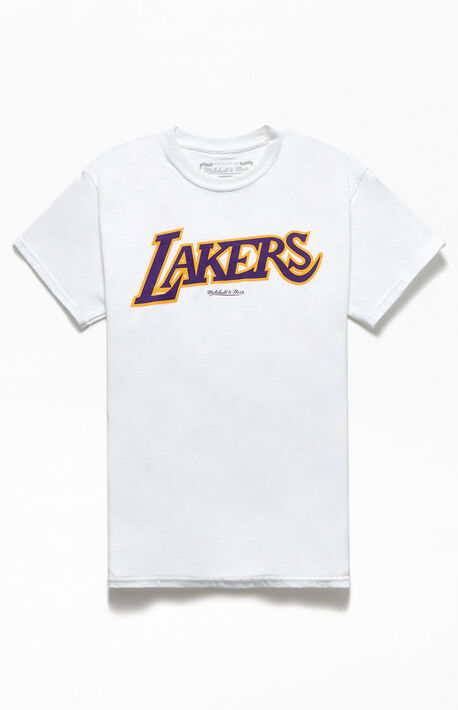 Lakers Logo Short Sleeve T-Shirt