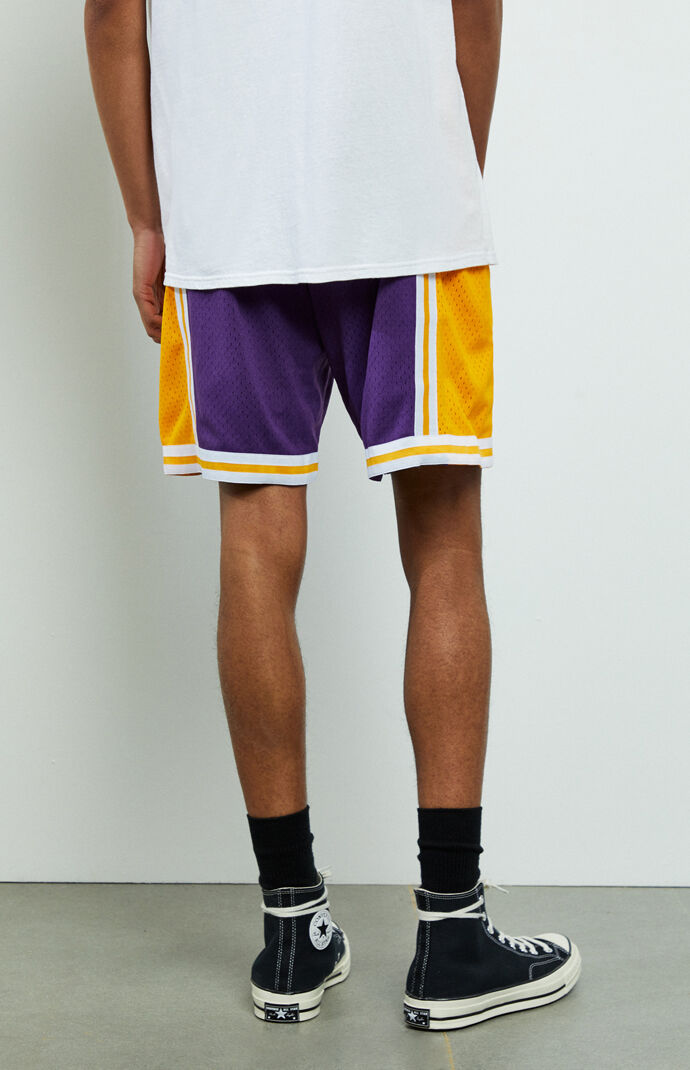 Swingman Lakers Basketball Shorts
