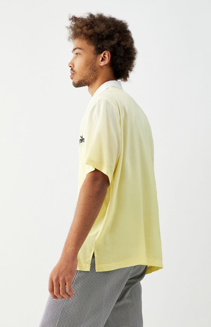 By PacSun Lemonade Gradient Camp Shirt