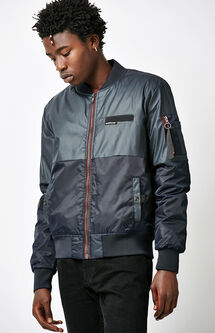 Deftone Colorblock Bomber Jacket