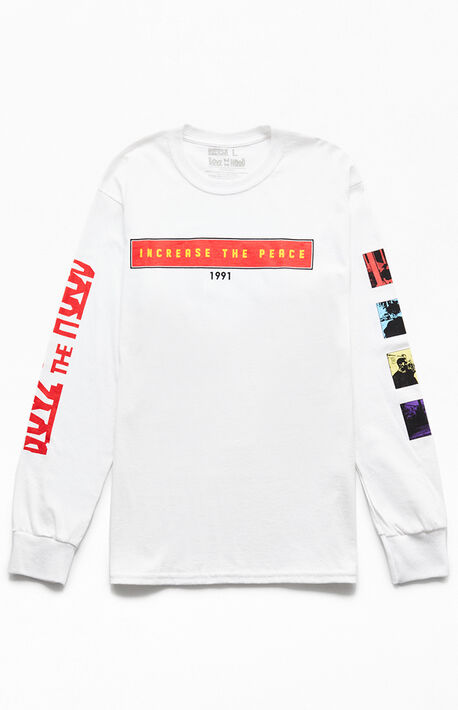 a988669ce5 Boyz N The Hood Increase Peace Long Sleeve T-Shirt