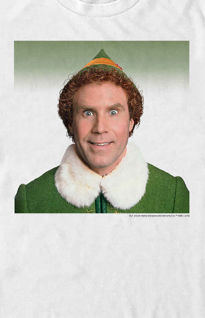Elf Buddy Photo T-Shirt