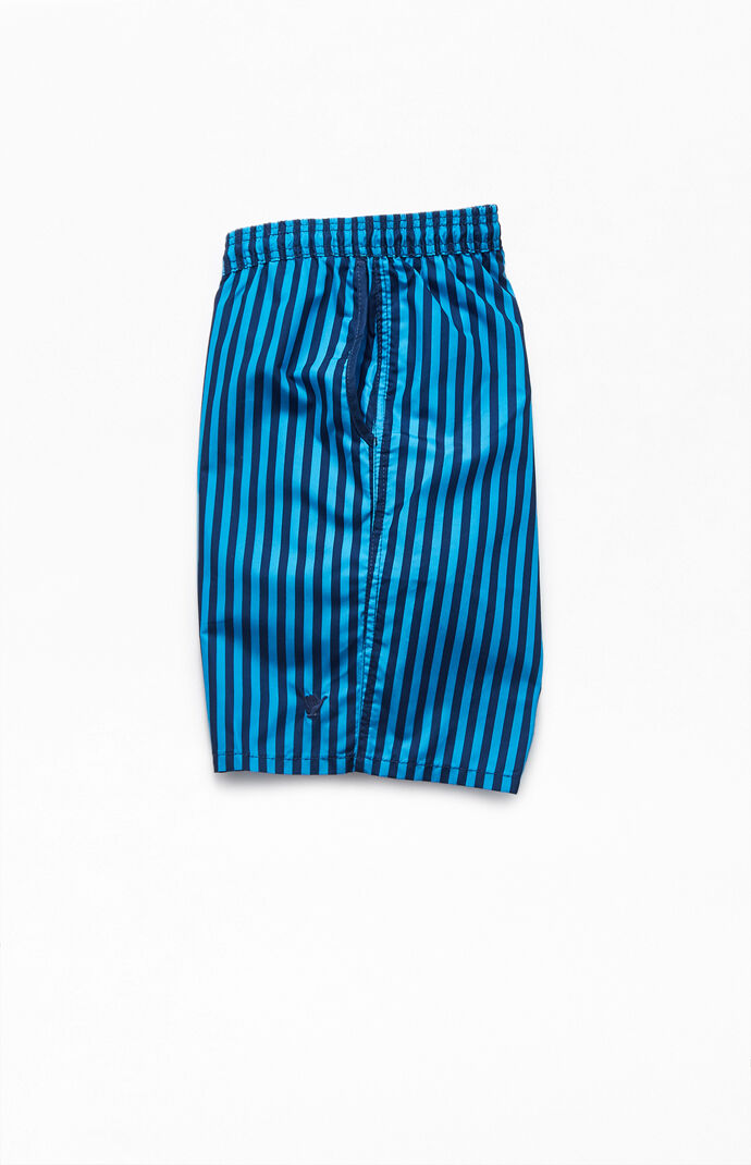 "Cabana Striped 19"" Swim Trunks"