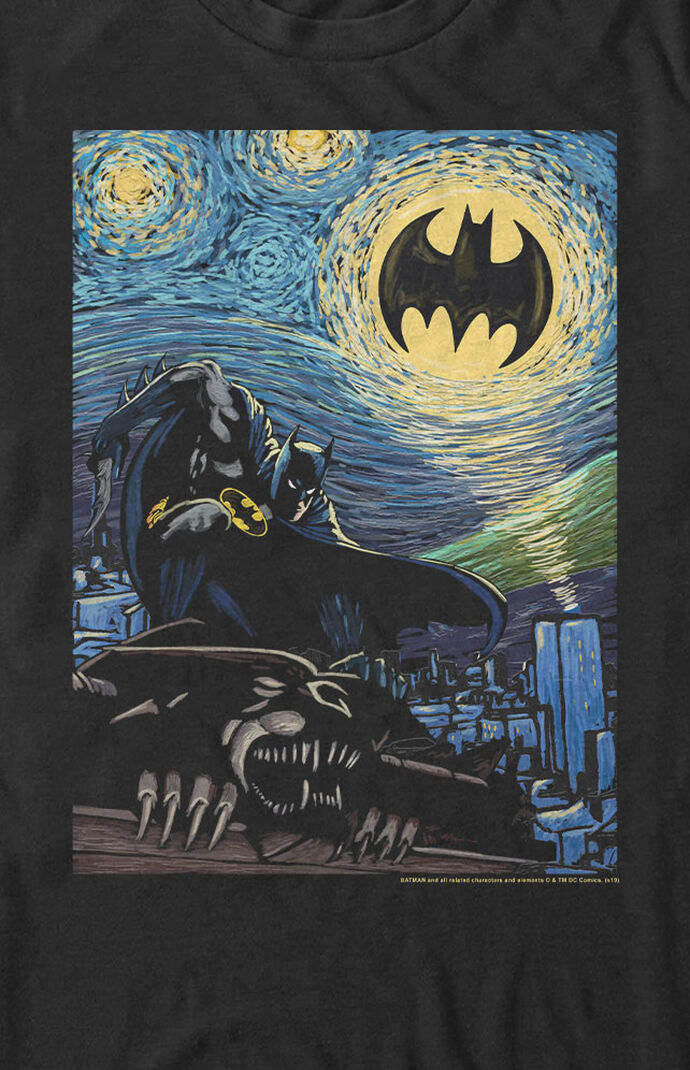Batman Starry Night T-Shirt