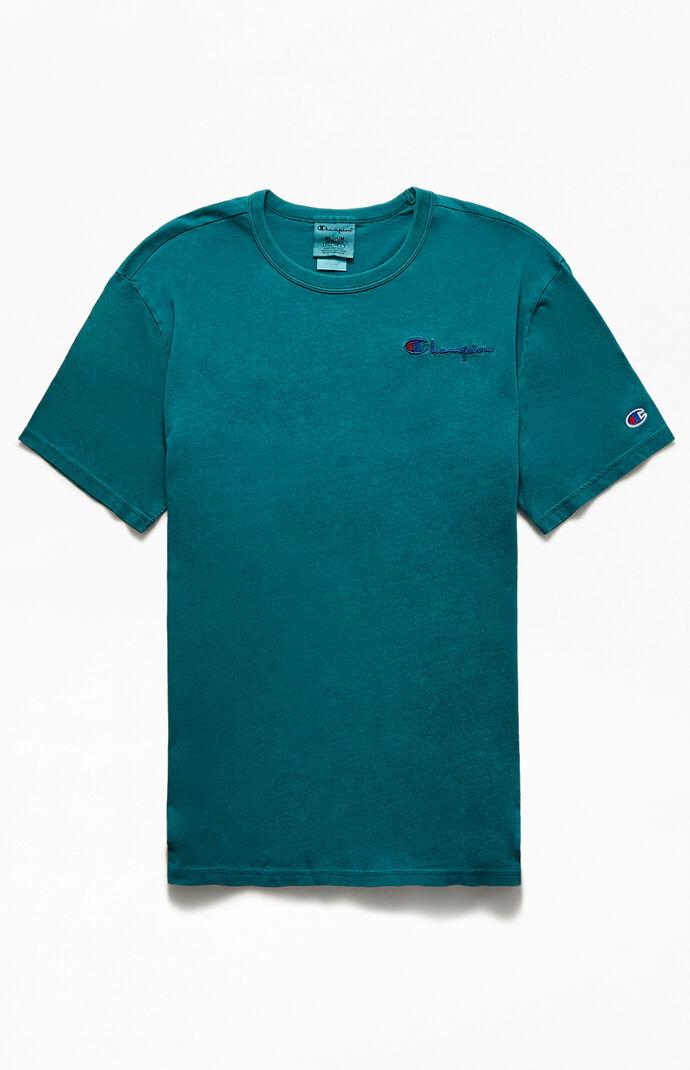 Vintage Dyed Script T-Shirt