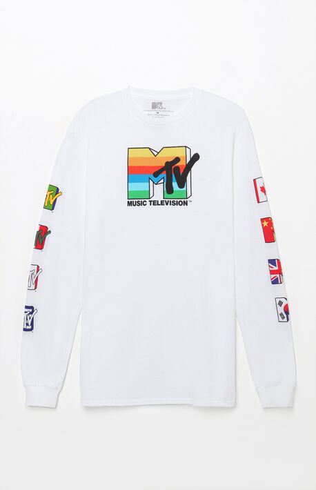 MTV World Long Sleeve T-Shirt a5227146a46