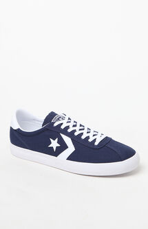 Breakpoint Pro Canvas Ox Low Top Navy & White Shoes