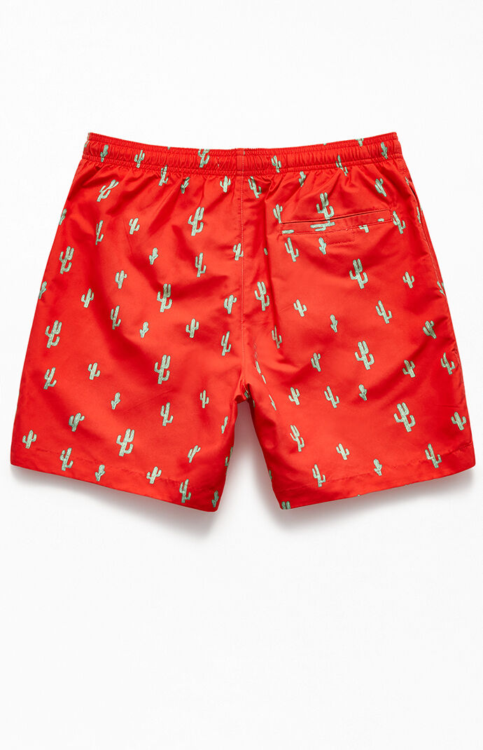 "Prickly 17"" Swim Trunks"