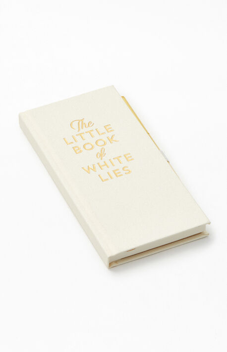 Little White Lies Note Book