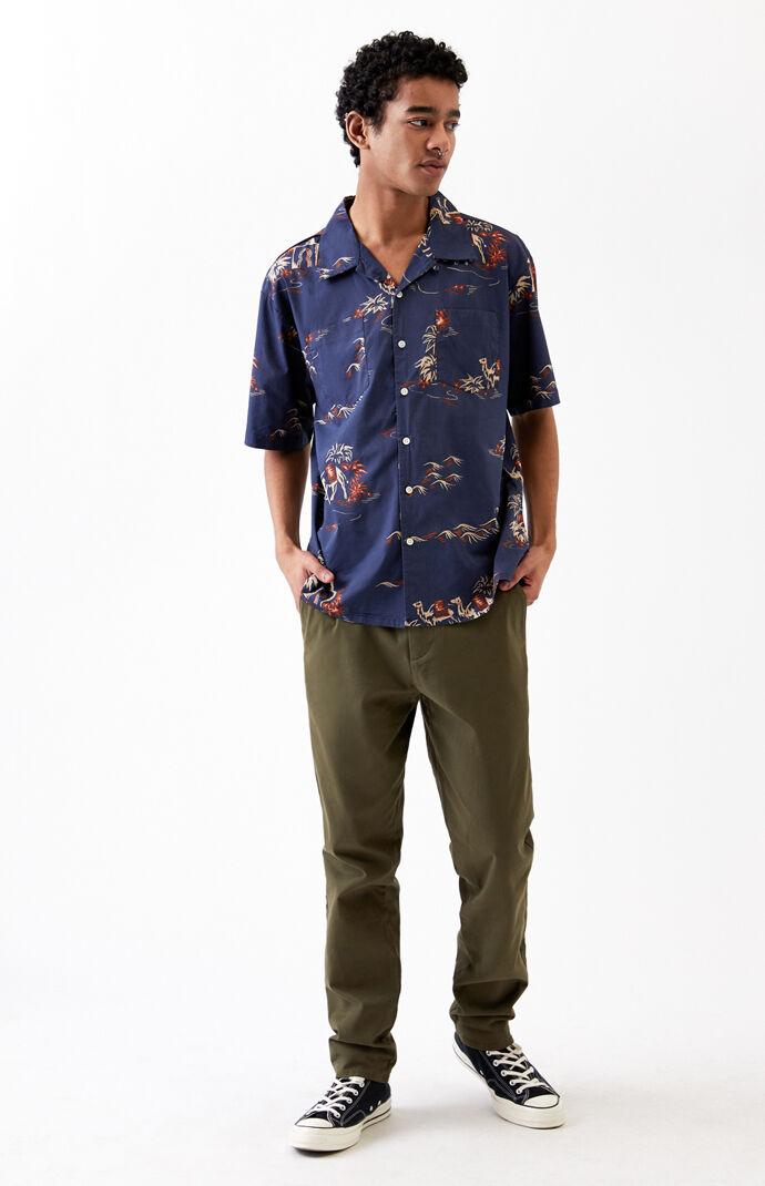 Cruze Short Sleeve Button Up Shirt