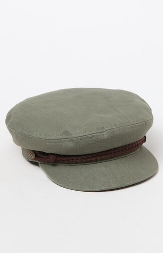 Olive Fiddler Fisherman Hat